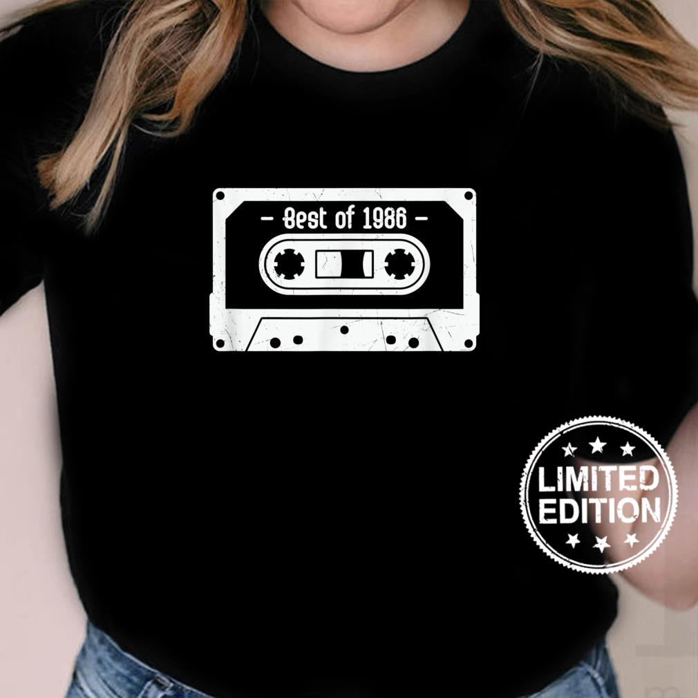 Give me the 90's 's Best of 1986 Shirt ladies tee