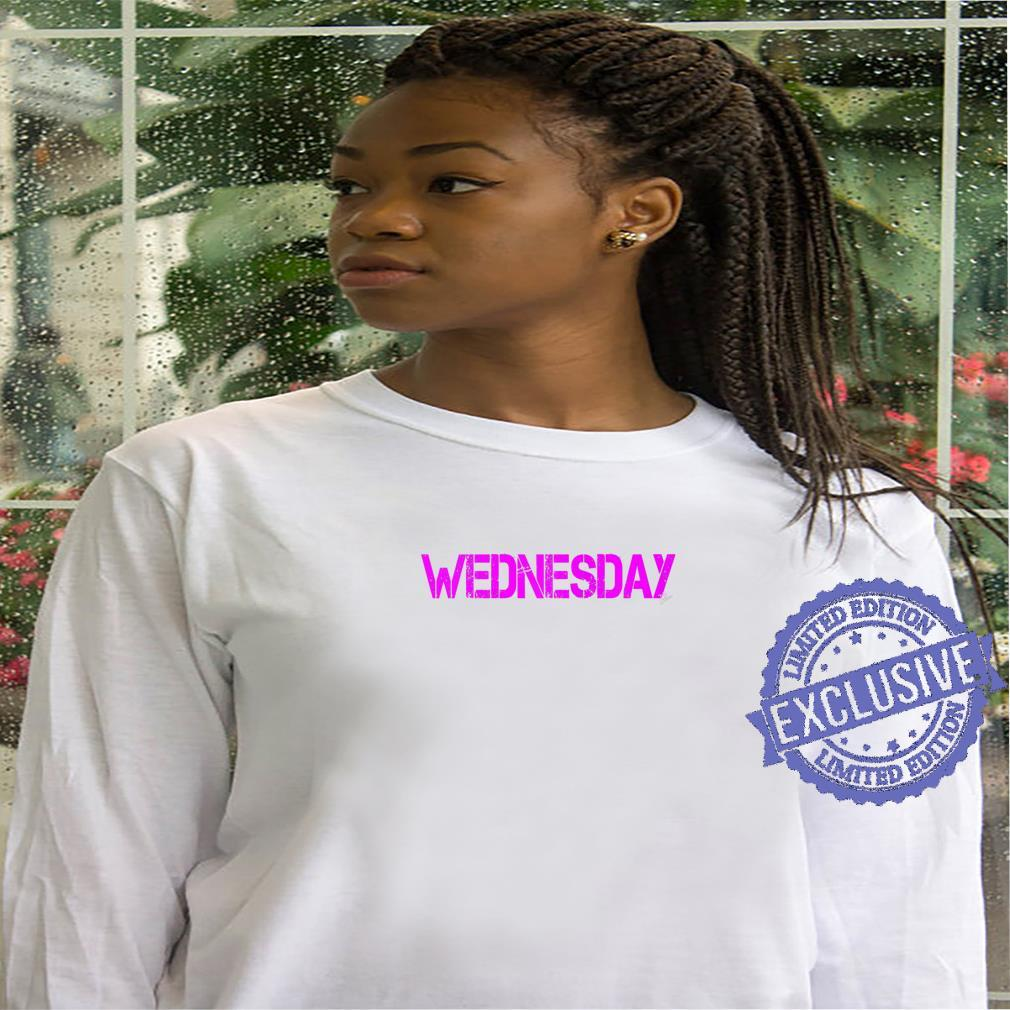 Wednesday Outfit weekday asberger help Autism awareness Shirt hoodie
