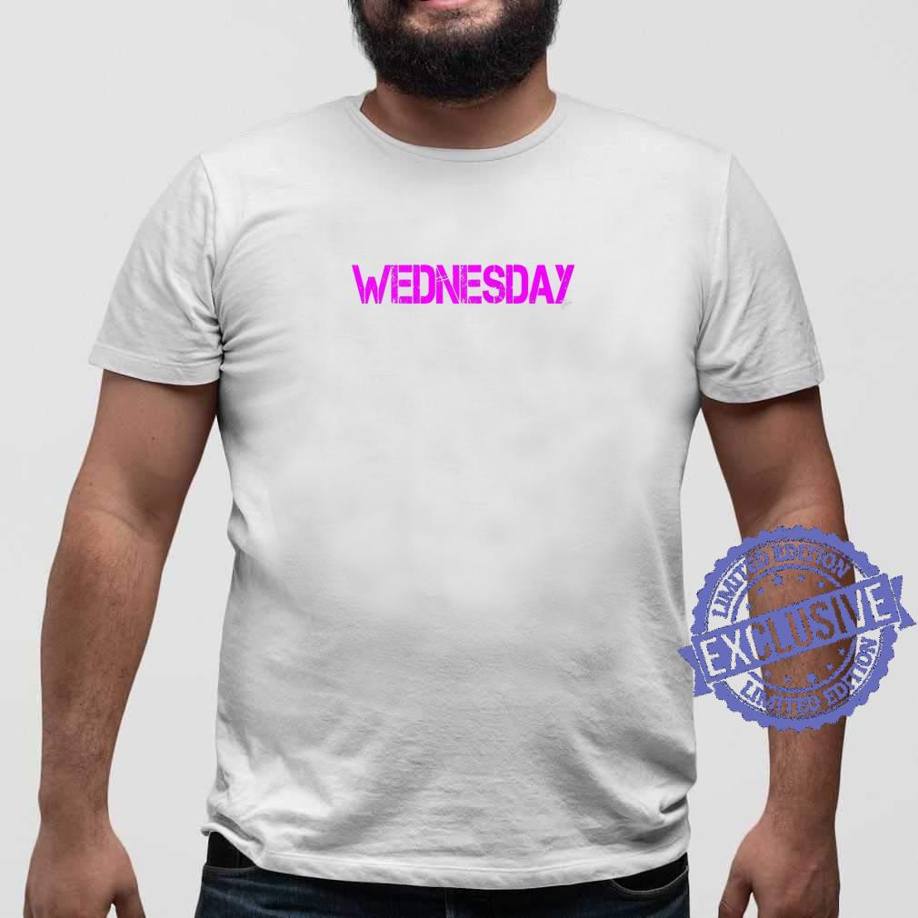 Wednesday Outfit weekday asberger help Autism awareness Shirt sweater
