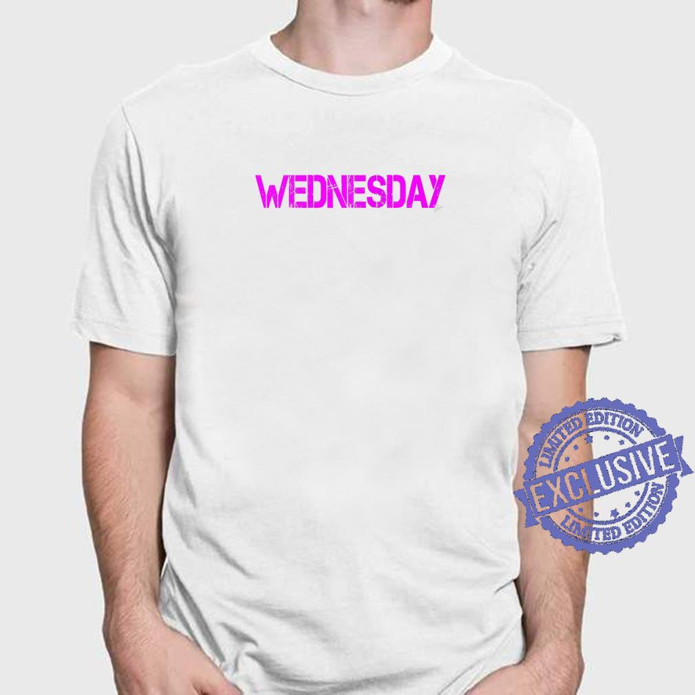Wednesday Outfit weekday asberger help Autism awareness Shirt
