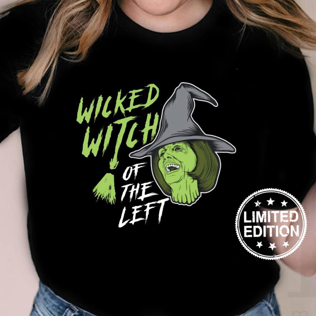 Wicked witch of the left shirt ladies tee